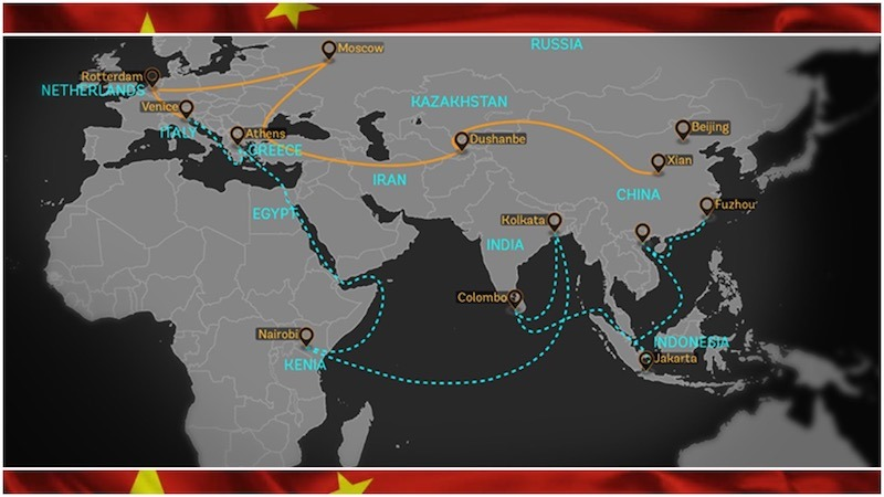German broadcaster DW says China's New Silk Route is full of cracks