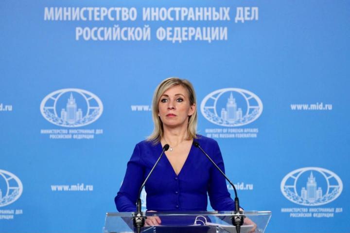 Russian Foreign Ministry Spokeswoman Maria Zakharova. Photo: www.mid.ru