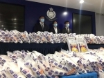 Hong Kong Police seize 682 kg of ketamine shipped from Pakistan