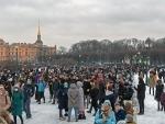 Moscow Police starts pushing away protesters near Matrosskaya Tishina Detention Center