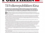 Four Nordic newspapers publish front-page letter slamming China over Hong Kong issue