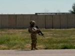 US military base on Iraqi-Kuwaiti border hit by rocket fire