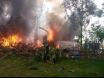Military plane carrying 85 people crashes in Philippines, 17 dead, 40 rescued so far