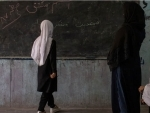Afghanistan women demonstrate in Kabul against closure of schools, universities for female students