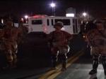 US: Stun grenades, tear gas disperse crowd protesting against Minnesota shooting