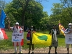 Canada: Regional Tibetan Youth Congress participates in 10-day protest march against China