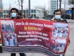 Germany: BNM members demonstrate in Berlin in solidarity with families of missing persons