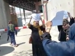 Afghanistan: Women demonstrate against Taliban over right to work under new regime