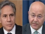 US operation against Islamic State terror group in Iraq not over yet, Antony Blinken tells Iraqi Prez