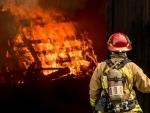 Fire blazes a north Macedonian COVID-19 hospital, 10 people dead