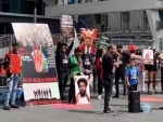 People demonstrate in Toronto, Paris over Pakistan-Iran's interference in Afghanistan