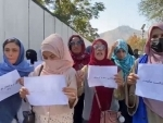Women protest in Kabul for not opening doors of schools for girls