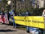 Germany: Free Balochistan Movement stages demonstration against enforced disappearance in Balochistan