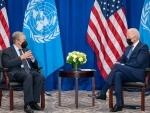 Joe Biden-Antonio Guterres meet in New York, discuss COVID-19 issue