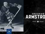 Canada: Former Captain of Maple Leafs George Armstrong passes away at 90