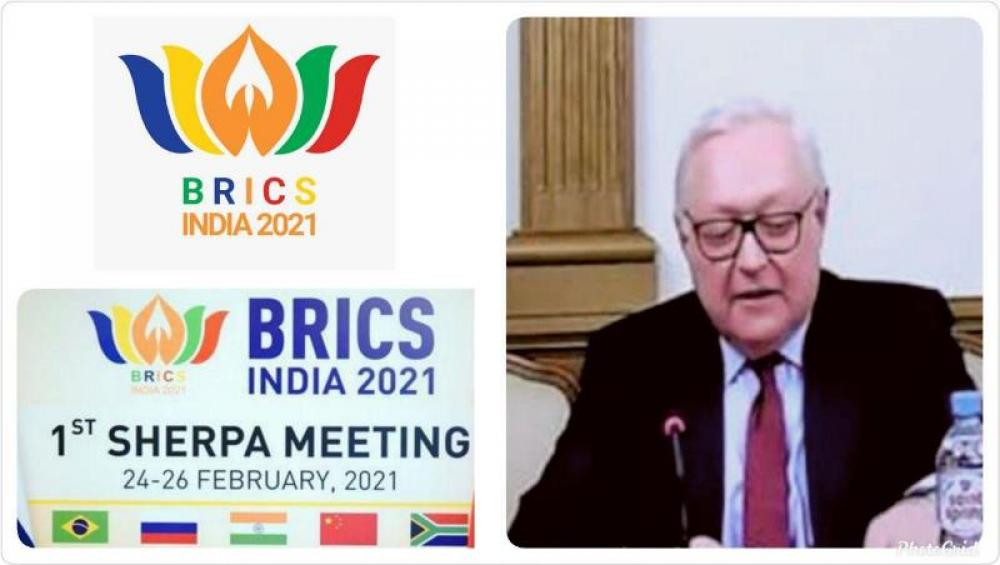 Russia bats for implementation of counter-terrorism strategy during BRICS Sherpas, Sous-Sherpas' meeting