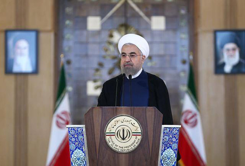 Hassan Rouhani confirms Iran's readiness to comply with nuclear deal if US lifts sanctions