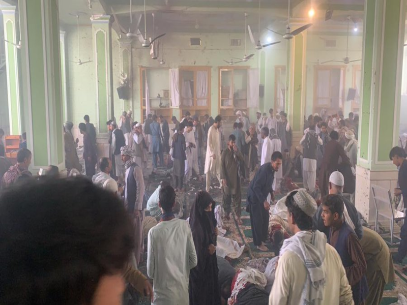 Afghanistan: At least 32 dead, dozens injured in Shiite mosque blast in Kandahar