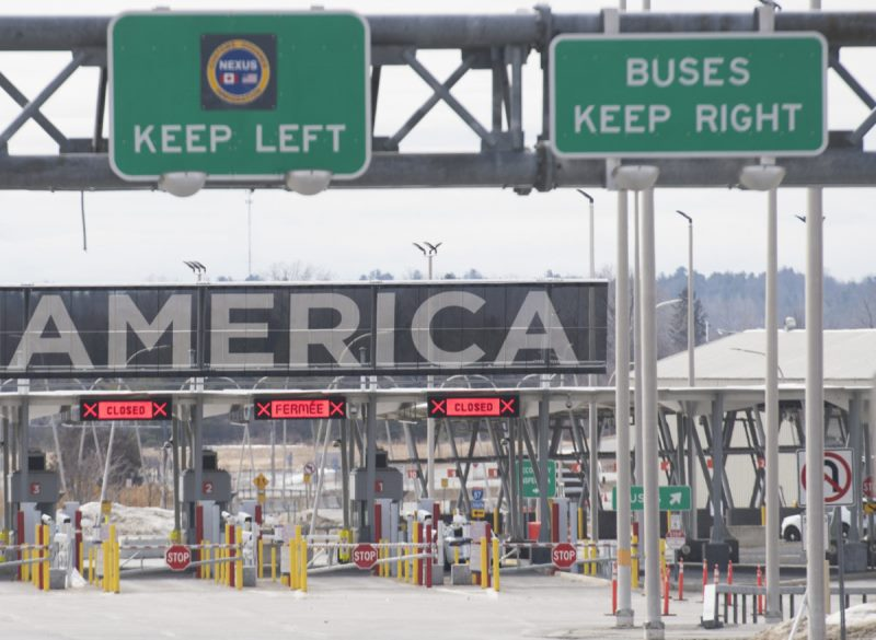Canada-US border shut down to continue for another month with no reopening plan insight