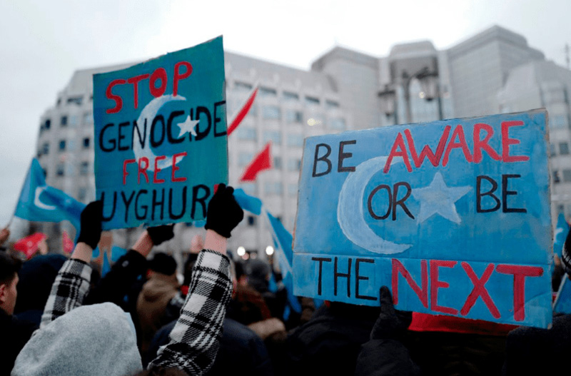 Campaign for Uyghurs says it was targeted by CCP propaganda
