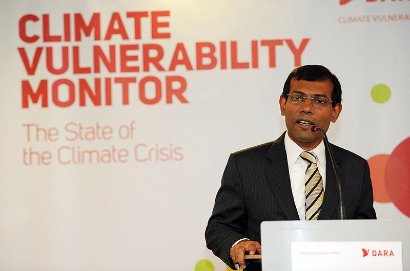 Ex-Maldives President Mohamed Nasheed injured in suspected bomb blast