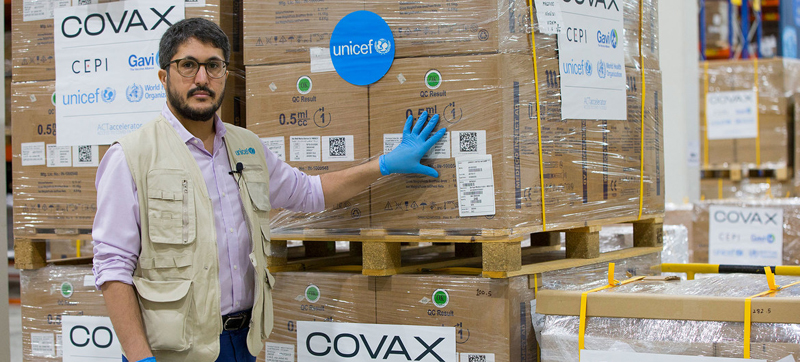 First wave of COVID-19 vaccine syringes start journey to Maldives