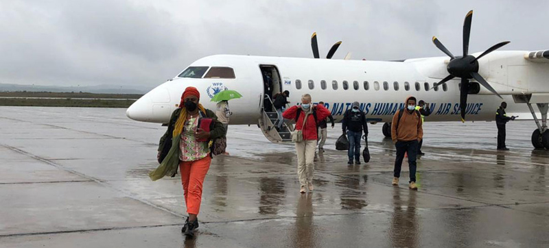 Tigray: As famine looms, first WFP humanitarian flight arrives