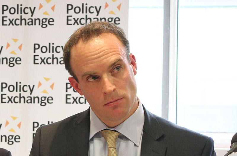 UK's Raab welcomes US offer to provide safe haven to Hong Kongers