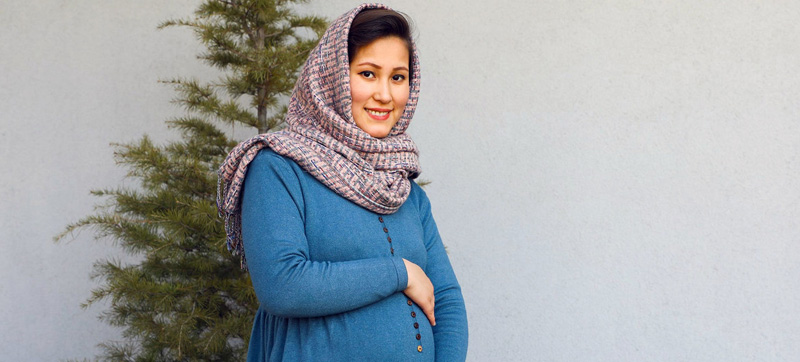 Hopes and fears of mother-to-be in Afghanistan