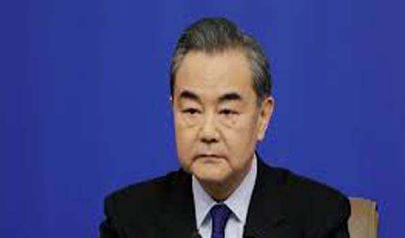 Chinese foreign minister Wang Yi met with Taliban political office chief