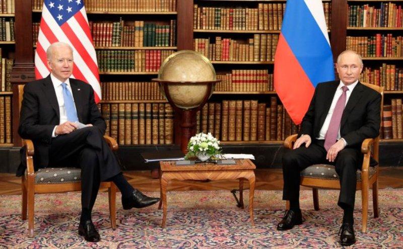 Presidents Joe Biden and Vladimir Putin meet at Geneva villa amid hope for 'stable talks'