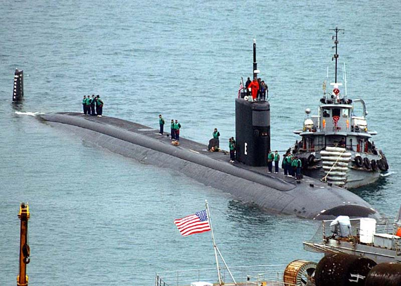 Eleven sailors hurt after US submarine strikes object in Indo-Pacific: Reports
