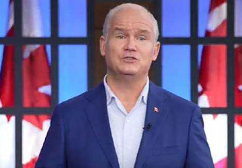 Canada's opposition Conservative leader concedes defeat in the national election