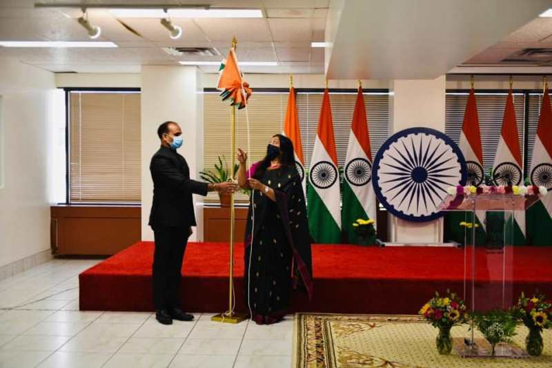 Canada: Indian consulate virtually observes 72nd Republic Day