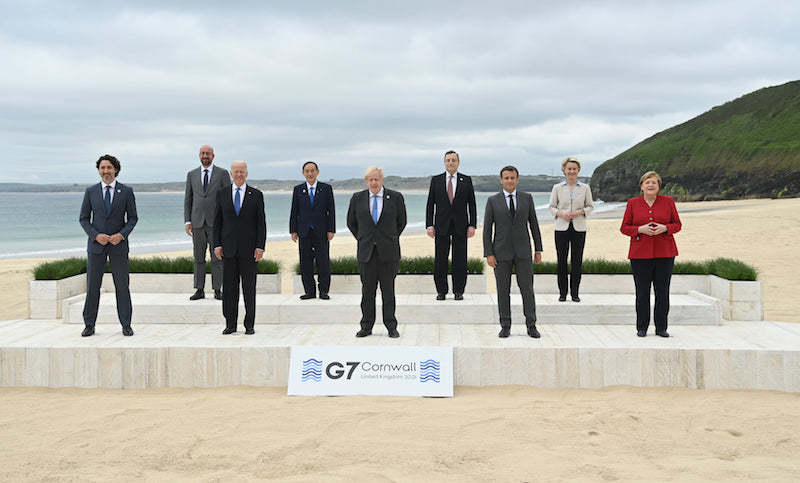 UK Police arrest 7 people in Cornwall near location of G7 Summit