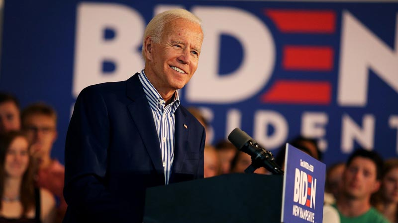 Joe Biden says US economic crisis 'deepening'