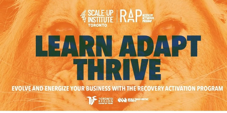 RAP, a series of online programs, helps in Ontario's financial recovery in response to COVID-19