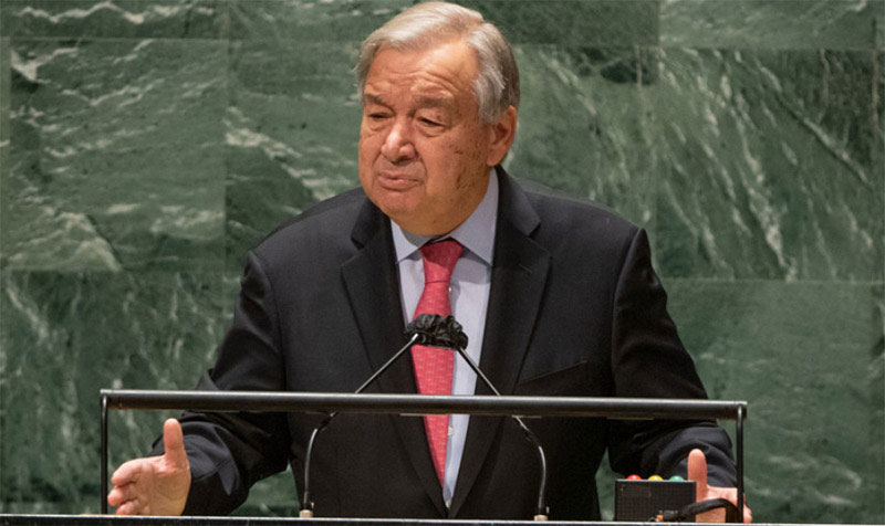 Restore trust and inspire hope, UN chief says in message to UNGA76
