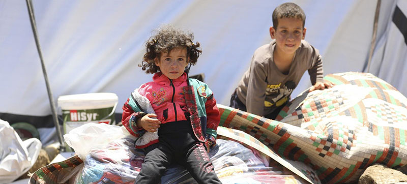Civilians in southern Syria 'under siege' – UN human rights chief