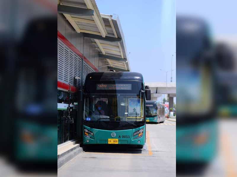 Pakistan: Peshawar's Bus Rapid Transit system lacks functional washrooms