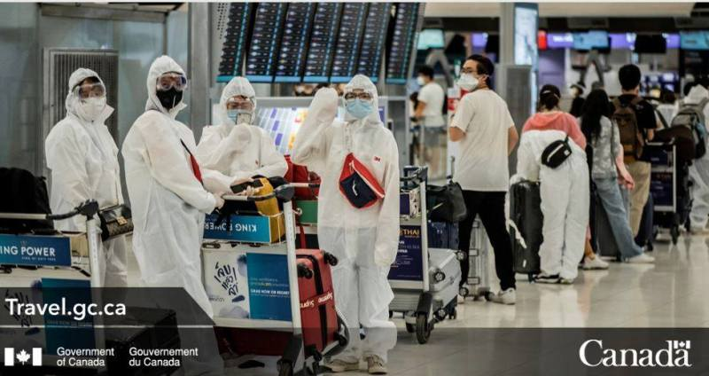 Air travellers to Canada to follow new quarantine rules effective today