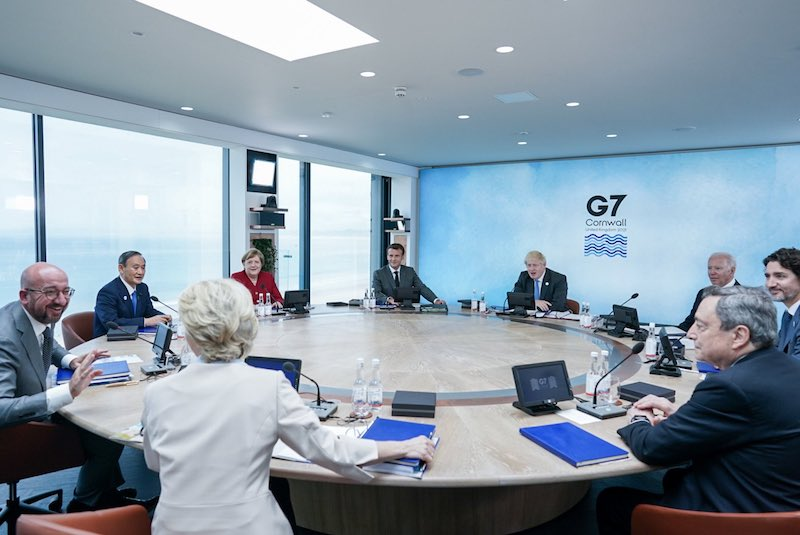 G7 considering allocating USD 100 billion to fight against COVID-19 : White House