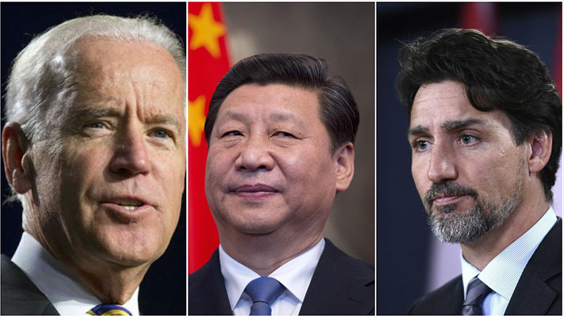 Justin Trudeau, Joe Biden discuss arbitrary detention of two Canadians by China